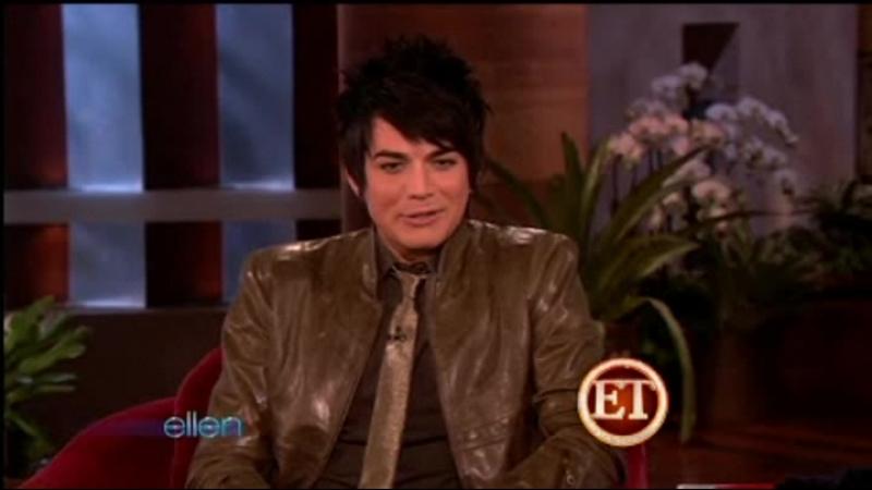 Adam Lambert - interview on Ellen 12.01.09