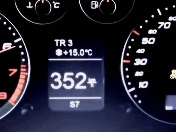 AUDI RS3 365 kmh max speed VS Audi RS6 MTM 740 hp VS 730 hp