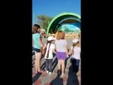 Детский праздник в парке.