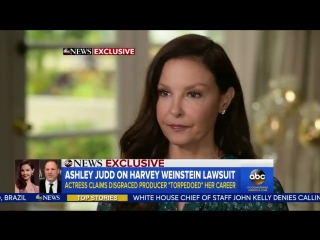 Ashley Judd discusses her lawsuit against Harvey Weinstein on 'Good Morning America'