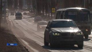 Самые опасные места на дорогах Уфы
