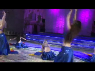 Joumana Dance Show - Silk Madness (Fan veil dance) 20844