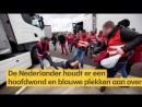 Trucker wil staking breken en krijgt klappen van Lidl-personeel - RTL NIEUWS