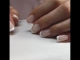 Как рисовать френч?