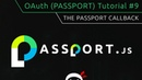 OAuth Tutorial 9 Passport Callback Function