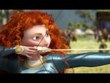 Храбрая сердцем  Brave (2012) Трейлер (Archery Scenes)