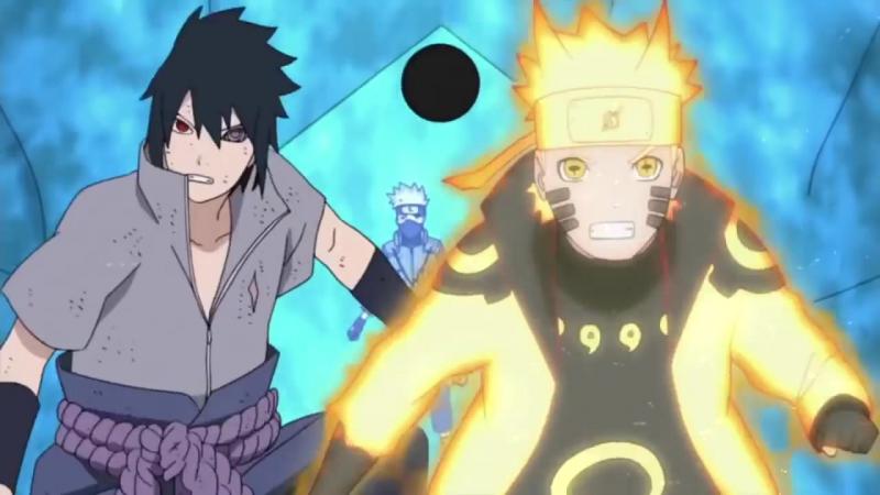 Team 7 VS Kaguya [Naruto AMV] - all good things – Fight ♪
