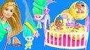 Куклы ЛОЛ Пупсики - ДЕТИ БАРБИ И ДЕТИ ТРОЛЛЕЙ! Барби Мультики! Тролли Мультик с Игрушками