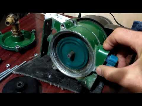 Внутреннее устройство насоса Кама-10, переделанного под кавитатор-активатор воды Хасанова
