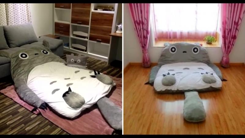 Кровать-подушка Totoro