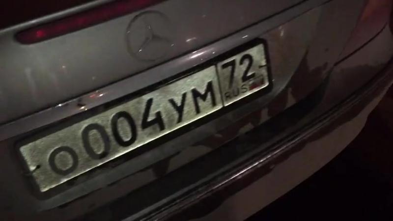 Пьяный инспектор ГИБДД собрал «паровозик» из четырех машин