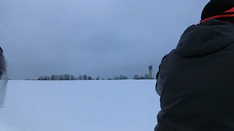 Отличная прогулка на снегоходе