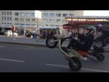 Мото-экстрим на улицах Перми. Лето 2017.