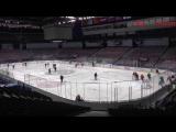 Видео с утренней раскатки команды перед третьим матчем серии с