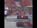 Кими Райкконен покалечил механика на пит-стопе на этапе чемпионата мира по Формула-1