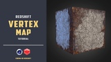 Quick demonstration of using vertex map with redshift CINEMA 4D TUTORIAL