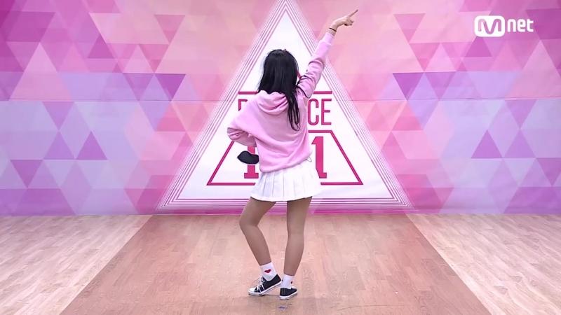151222 Produce 101 Teaser @ Kim Si Hyeon