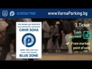 """Blue zone"""" paid parking system in Varna ENG"""