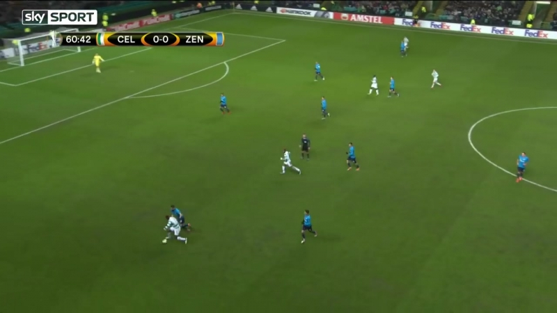 15.02. League Europa. 1_16 Finale. Celtic - Zenit 1-0