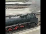 Ретро-поезд в Краснодаре