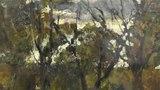 СЕРОВ ВАЛЕНТИН АЛЕКСАНДРОВИЧ. «ОСЕННИЙ ВЕЧЕР В ДОМОТКАНОВО», художник Ревякин, Москва