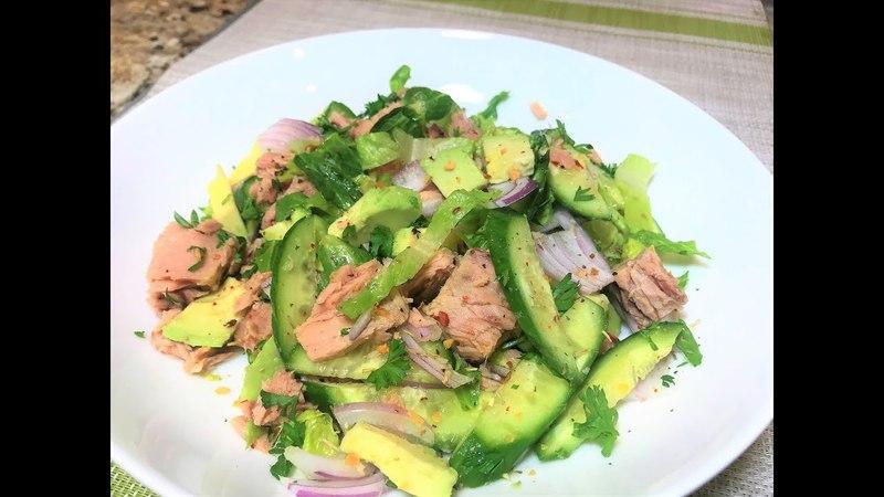Салат -Ужин за 5 минут! Невероятно Вкусный! Здоровое Питание. Salad - Dinner