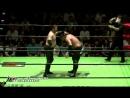 Ohara Kumano Taniguchi vs Saito Inoue Ogawa NOAH Navigation with Emerald Spirits 2018