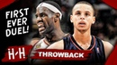 MVP LeBron James vs Rookie Stephen Curry FIRST EVER Duel Highlights 2009 11 17 Clutch LeBron