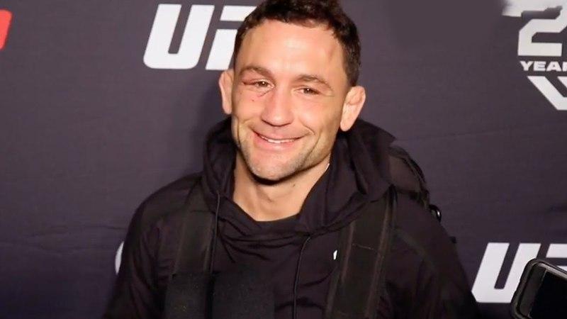 Интервью Фрэнки Эдгара после боя на UFC Fight Night 128