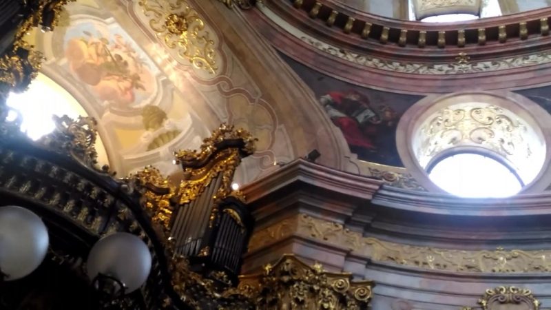Церковь Святого Петра, концерт органной музыки