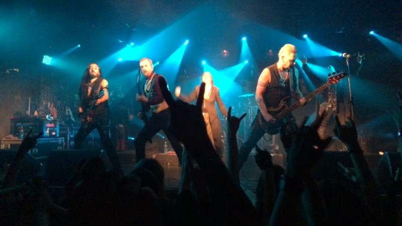 Therion 13.04.2018 Спб Rise of Sodom and Gomorrah