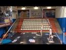 Всероссийский турнир по шестовой и воздушной акробатики / Алена Иволгина и Ксения Бутаков / Омск