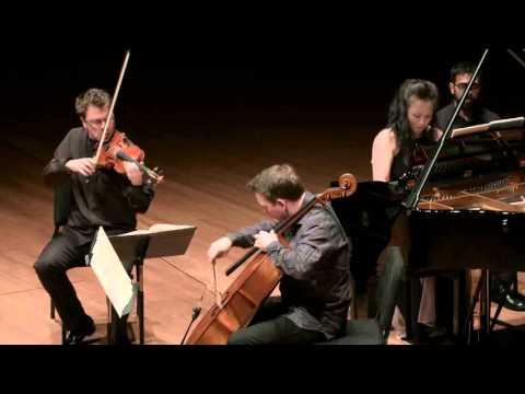 Brahms Piano Trio in C minor for Piano Violin and Cello Mvt I CMS