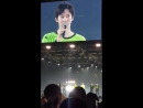 [FANCAM] 180701 Suho during Ending Ment @ EXO-L-Japan presents EXO Channel