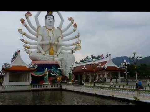 Wat Plai Laem temple in Koh Samui - By Tundrablu