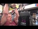 Arnold Schwarzenegger, Sylvester Stallone and Jean-Claude Van Damme Training 201