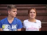 Девушки мотора. Таня и Андрей. Спортивный поцелуй.