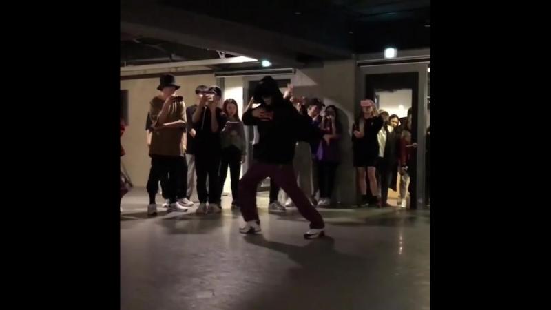 180221 1m dance ( Dean - Instagram )