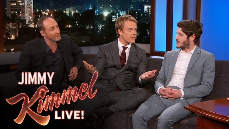 Iwan Rheon, Michael McElhatton Alfie Allen Talk Game of Thrones