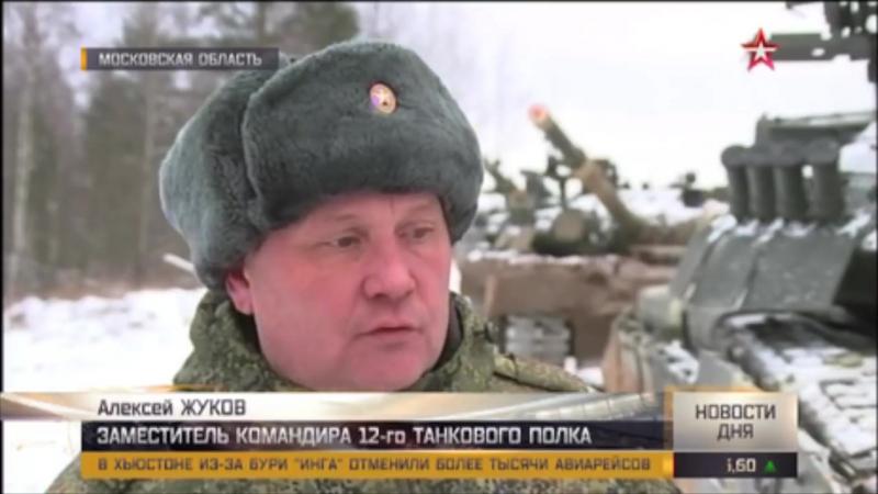 Стрельба кантемировцев_ кадры подготовки гвардейцев к «Танковому биатлону»