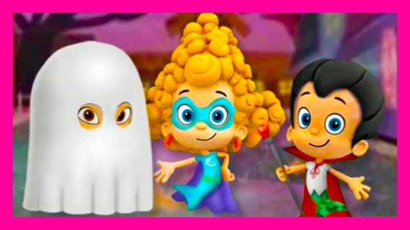 💟💜💟BUBBLE GUPPIES💜💟💜 ➡️ HALLOOWEEN PARTY \ FUNNY MULT-GAME FOR KIDS \ A LOT OF FUN 😁