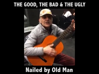 The Bad The Good And The Ugly old man funny cover