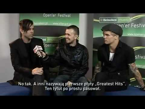 Placebo Interview @ Heineken Open'er 2009