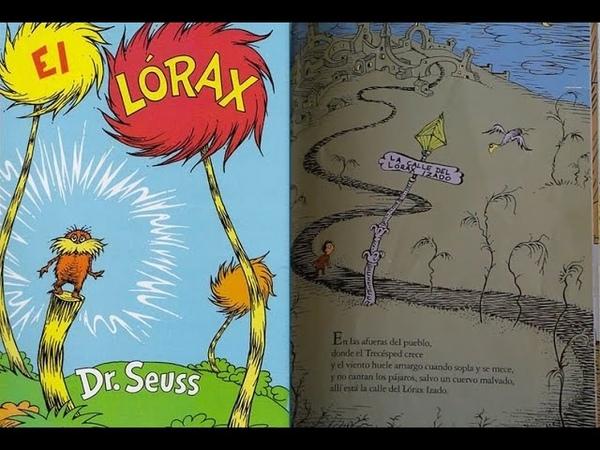 El lorax Por Dr. Seuss - Libro Leido en YouTube