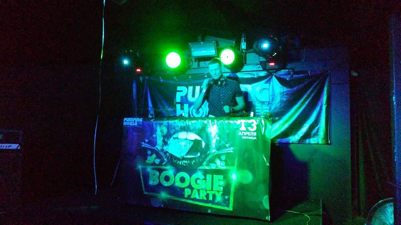 DJ Cross Live @ Old School BOOGIE PARTY 13 04 18