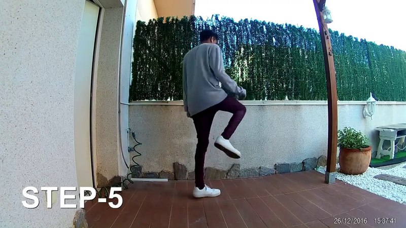 Learn to shuffle for Beginners with Jhonny Amarante Урок по шафл