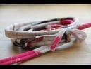 Как сделать декоративный шнурок без специальной лапки за 10 минут.