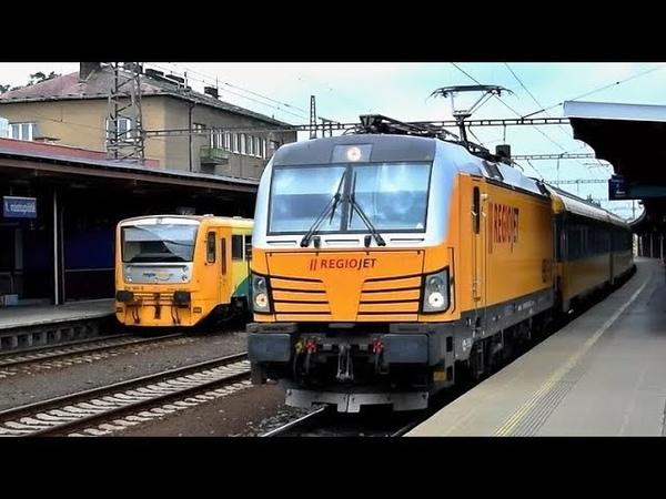 Vlaky Kolín ● 03.06.2018