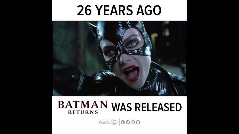26 Years Ago Batman Returns Was Released
