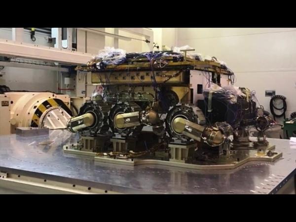 ExoMars Rover STM vibration test